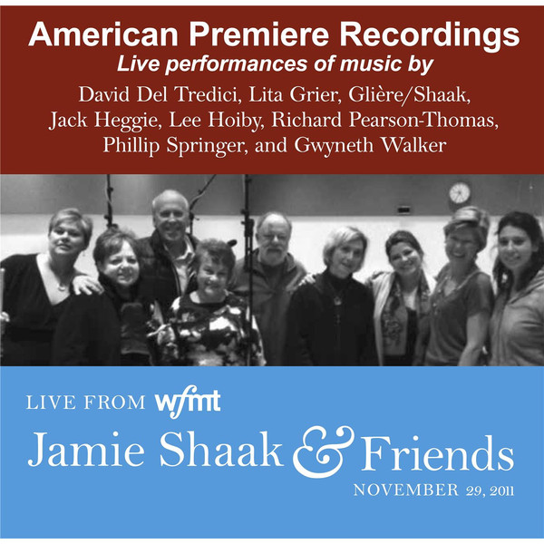 Jamie Shaak and Friends Album Art