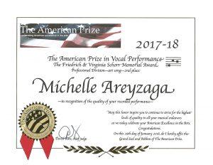 Michelle areyzaga soprano home feature solutioingenieria Gallery